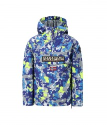 Детско яке K RAINFOREST CAMU 2 PURPLE CAMO размер 04, 06, 08 год.