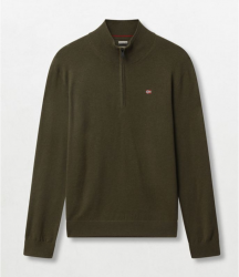 Мъжки пуловер DAMAVAND HALF GREEN FOREST 2