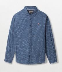 Мъжка риза GASSIM BLUE FLORAL FA3