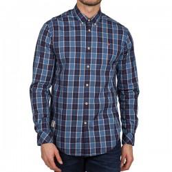 Мъжка риза GOAYO BLUE CHECK 12C