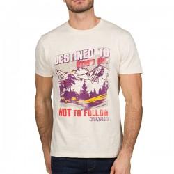 Мъжка тениска SEEB WHITE GRAPH FE5
