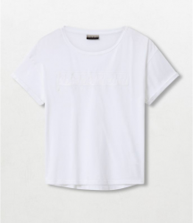 Дамска тениска SERBER WOM BRIGHTWHITE 002