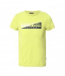 Детска тениска K SAKY YELLOW LIME размер 10, 14, 16 год.