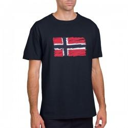 Мъжка тениска STEN SS BLU MARINE
