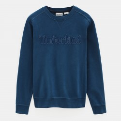 Мъжко горнище Taylor River Crew Neck Sweatshirt for Men in Blue