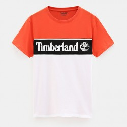 Мъжка тениска Linear Logo T-shirt for Men in Orange