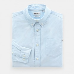 Мъжка риза Pleasant River Oxford Shirt for Men in Blue