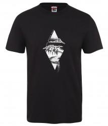 Мъжка тениска M S/S FLASH TEE - EU TNFB/TNFW/TNFW
