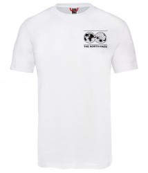 Мъжка тениска 7SE S/S GRAPHIC TEE TNF WHITE