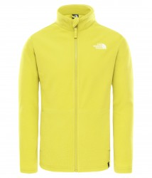 Детски полар Y SNOWQUEST FULL ZIP (RECYCLED) CITRONELLEGREEN