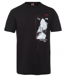 Мъжка тениска M S/S CELEBRATION TEE-EU TNF BLK/TNF BLK