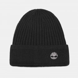 Шапка Ribbed Beanie in Black