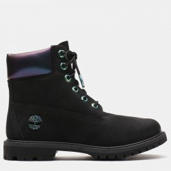Дамски боти 6 Inch Iridescent Premium Boot for Women in Black