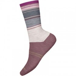 Дамски чорапи Women's Sulawesi Stripe Crew Socks Moonbeam
