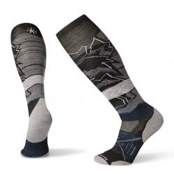 Мъжки чорапи Men's PhD® Ski Light Elite Pattern Socks Black