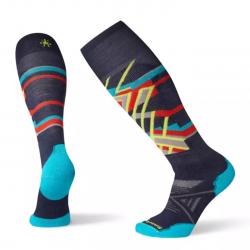 Мъжки чорапи Men's PhD® Ski Medium Pattern Socks Deep Navy