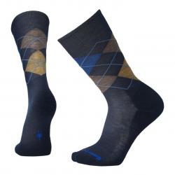 Мъжки чорапи Men's Diamond Jim Socks Deep Navy Heather/Desert Sand Hthr