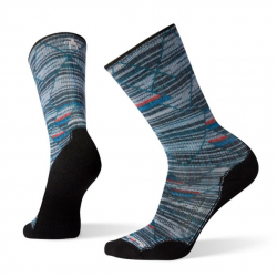 Мъжки чорапи Men's PhD® Outdoor Light Margarita Mash-Up Print Hiking Crew Socks Deep Navy