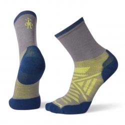 Мъжки чорапи Men's PhD® Run Cold Weather Mid Crew Socks Graphite