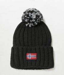 Дамска шапка SEMIURY WOM BLACK 041