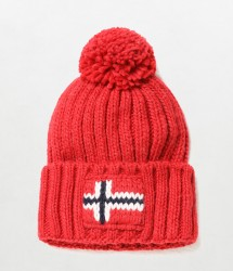 Мъжка шапка SEMIURY 2 RED SCARLET