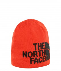 Шапка HIGHLINE BEANIE FIERYRD/TNFBLK
