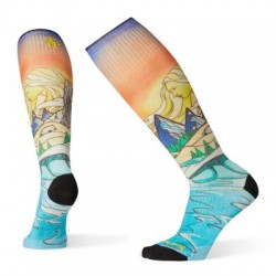 Дамски чорапи Women's PhD® Ski Ultra Light Lifecycle Print Socks  Multi Color