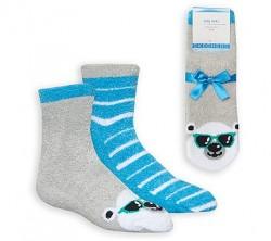 Детски чорапи 2PK BOYS COZY BEAR LBLW