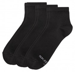 Мъжки чорапи Men Basic Quarter Socks 3p 9999