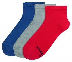 Мъжки чорапи Men Basic Quarter Socks 3p 3550