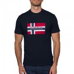 Мъжка тениска SOVICO BLU MARINE