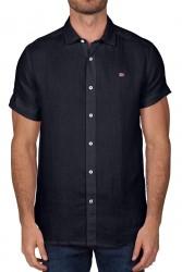 Мъжка риза GERVAS SS 2 BLU MARINE