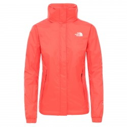 Дамско яке W RESOLVE JACKET - EU CAYENNE RED