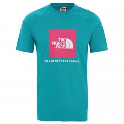 Мъжка тениска M S/S RAGLAN REDBOX TEE - EU JAIDEN GREEN