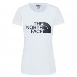 Дамска тениска W S/S EASY TEE TNFWT/TNFB/TNFW