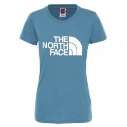 Дамска тениска W S/S EASY TEE MALLARD BLUE