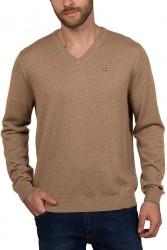 Мъжки пуловер DAMAVAND V 2 - BEIGE PORTABEL