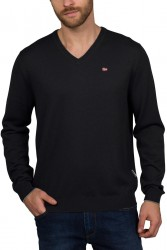 Мъжки пуловер DAMAVAND V 2 - BLACK 041