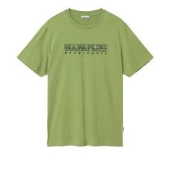Мъжка тениска SEBEL SS - GREEN MOSSTONE