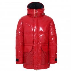 Дамско яке BRNLB NF DWN RS PRKA TNF RED