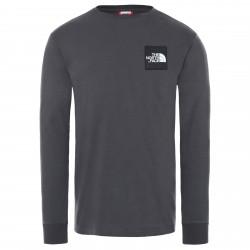 Мъжка тениска с дълъг ръкав M BORUDA L/S TEE ASPHALT GREY