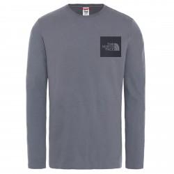 Мъжка тениска с дълъг ръкав M L/S FINE TEE VANADIS GREY