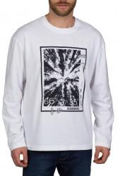 Мъжка блуза S-PASILAN LS BRIGHT WHITE 002