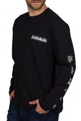 Мъжка блуза S-PASILAN LS BLACK 041