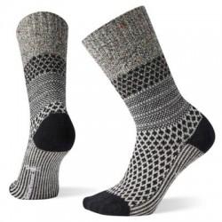 Дамски чорапи W Popcorn Cable in Black-Multi