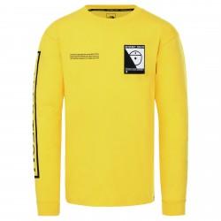 Мъжка тениска с дълъг ръкав L/S STEEP TECH TEE LIGHTNING YLW