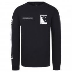 Мъжка тениска с дълъг ръкав L/S STEEP TECH TEE TNF BLACK