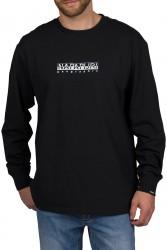 Мъжка блуза S-BOX LS - BLACK 041