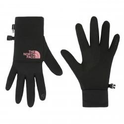 Дамски ръкавици W ETIP RECYD GLOVE TNFBLK/MESAROSE