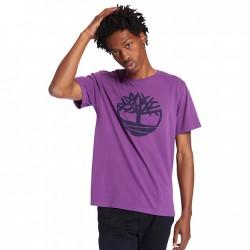 Мъжка тениска Kennebec River Tree Logo T-shirt for Men in Purple
